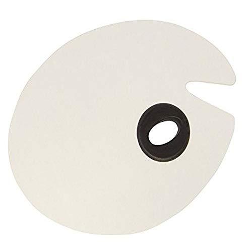 Jack Richeson 696056 Oval Melamine Palette, 11' x 14'