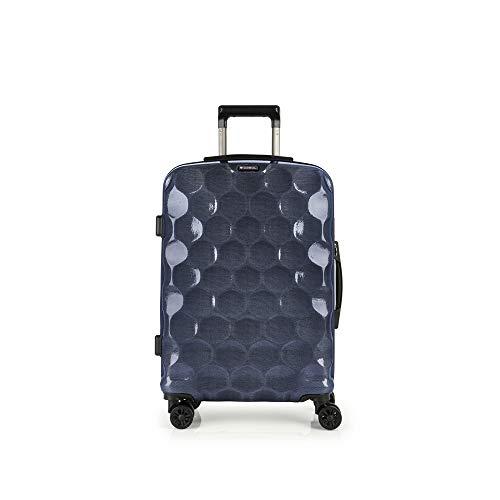 Gabol - Air | Maletas de Viaje Medianas Rigidas de 44 x 65 x 24 cm con Capacidad para 54 L de Color Azul