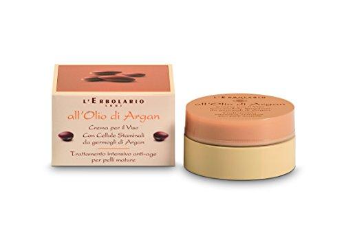 L'Erbolario Arganöl Anti-Ageing Gesichtscreme für reife Haut, 1er Pack (1 x 50 ml)