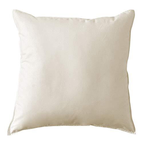 MACK - Cuscino base con imbottitura in piuma | cuscino in piuma per un sonno ristoratore | 80x80 cm - 1500g