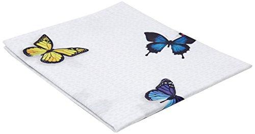 Essix - Taie d'oreiller Thaïs Percale de Coton Multicolore 64 x 64 cm