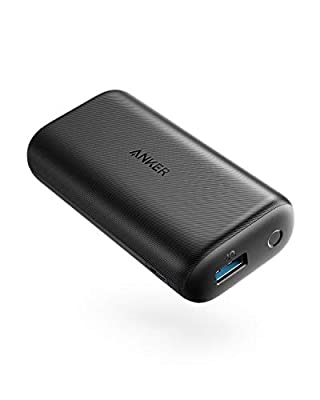 Anker PowerCore 10000 Redux, Ultra-Small Power Bank, 10000mAh Portable Charger for iPhone, Samsung Galaxy, and More