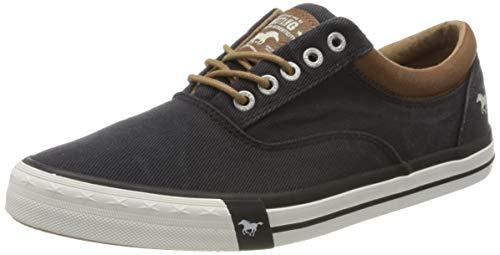 MUSTANG Herren 4072-312 Sneaker, Schwarz (Schwarz 9), 41 EU