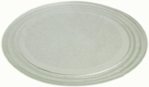 LG Electronics 3390W1A044B 12-Inch Microwave Oven Glass Turntable Tray