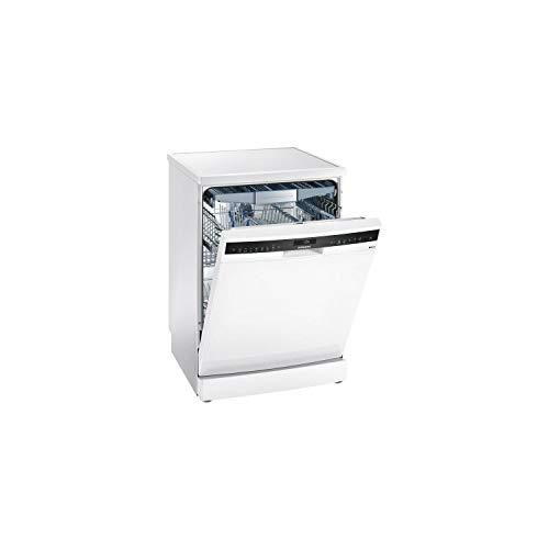 Siemens SN258W00TE Geschirrspüler 60 cm – Klasse A+++ / 40 dB – 14 Maßgedecke – weiß – Besteckschublade – freistehend