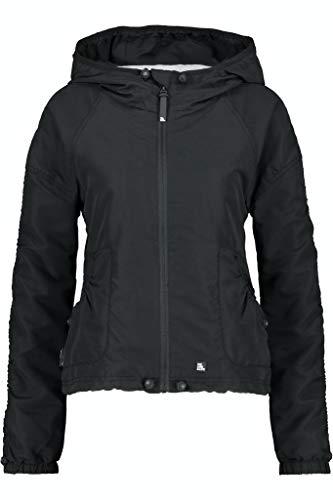 Alife and Kickin Damen OraAK Jacket Jacke, Moonless, XXL