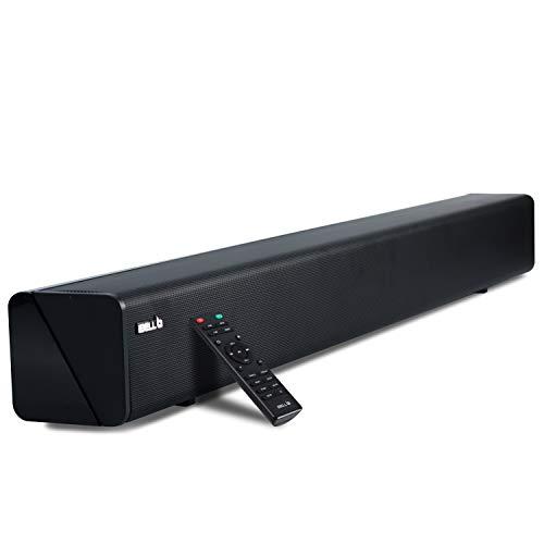 iBELL 265SB 2.0 Soundbar 60-Watts with HDMI & Bluetooth Multimedia Speaker|USB|AUX|Optical| Connectivity(Black)