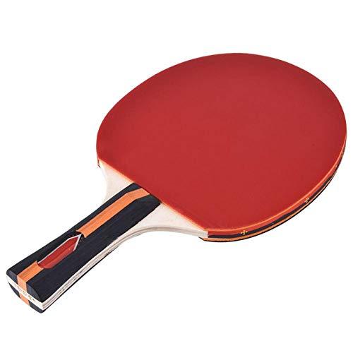 Jeanoko Pegamento de tenis de mesa Bat Ping Pong Bat Ping Pong Raqueta para tenis de mesa Amateur
