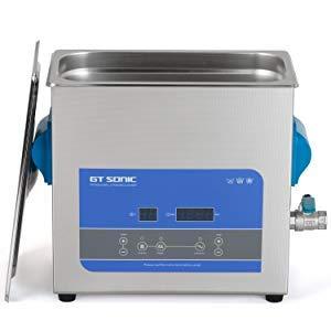 GT SONIC 超音波 洗浄機 業務用 超音波 洗浄 バスクリーナー 6L 150W 40kHz 超音波洗浄器