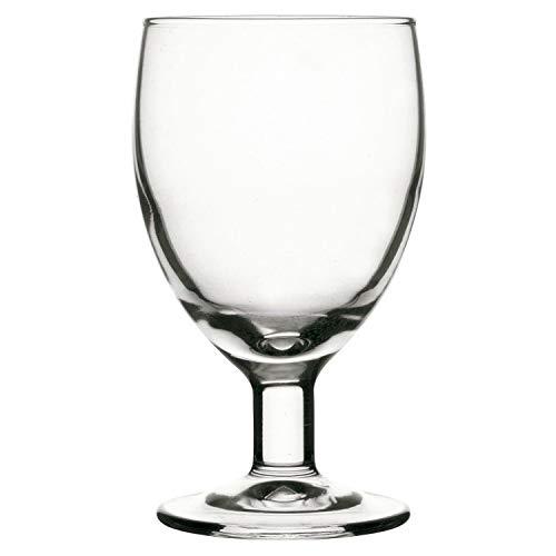 Arcoroc Vesubio-Set 6 copas vino de vidrio tensionado 14cl, Único