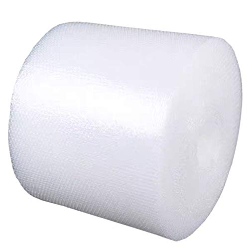 """Upkg 2-Pack Bubble Cushioning Wrap 700ft Rolls Total, 3/16"""" Air Small Bubble, 12 Inch x 350 Feet, Perforated Every 12"""" for Packing, Shipping, Mailing"""