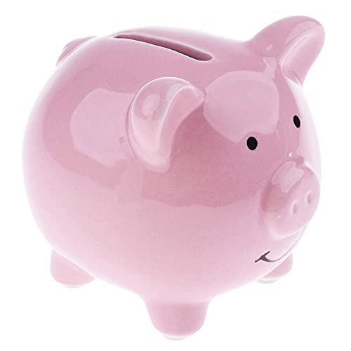 CHENMAO Hucha Piggy Bank Kids Piggy Bank Money Box Ahorro Monedas Cash Fun Regalo Cerámico Cercón