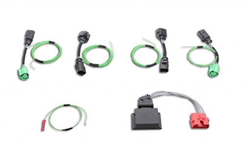 Kufatec Facelift achterlichten retrofit kabelset & codeer-dongle voor Audi A6 4G Avant