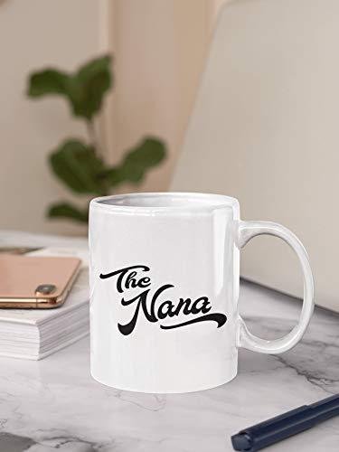 DKISEE Taza de café con diseño de nana, taza de café, té o café, café o té, taza de café caliente con cacao caliente, taza de té, café o té de nieto de 11 o 15 onzas