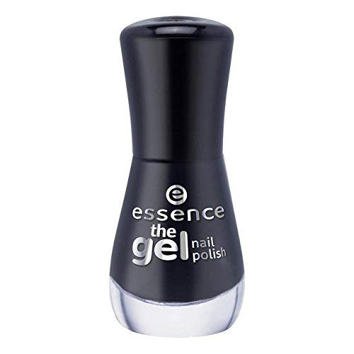 Unbekannt Essence Nagellack mit Gel-Effekt The Gel Nagellack 8 ml 46 Black Is Back