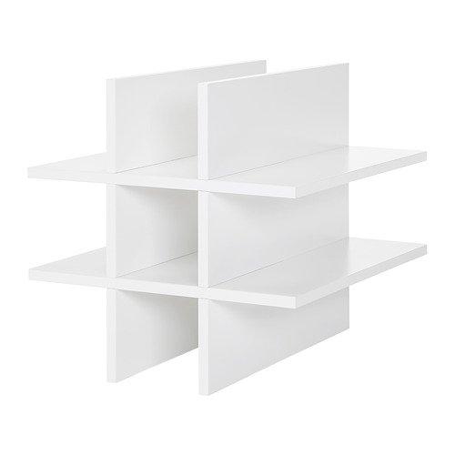 Unbekannt IKEA KALLAX Flascheneinsatz in weiß; (33x33cm)
