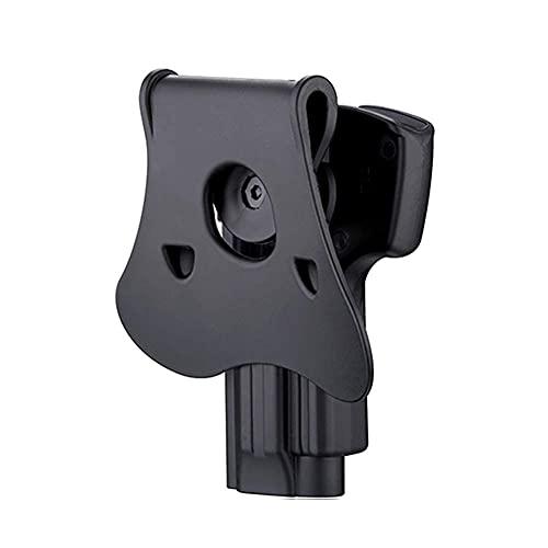 OWB Paddle Holster for Beretta 92, Beretta 92FS, GSG92, Taurus PT92, Girsan Regard MC, Open Duty Belt Carry Holster, Tactical Gun Holster, 360° Adjustable & Fast Release - Right Handed