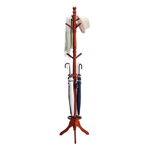YLCJ Coat hanger Coat hanger, Coat hanger Boomkaphanger Staande kapstok met enkele bar (Kleur: A)