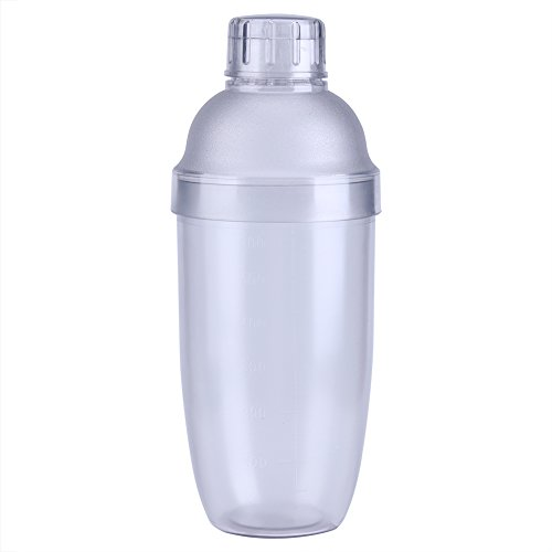 Anti-leakage Transparent PC Resin Milk Tea Cocktail Drink Shaker Bar Tool 700cc