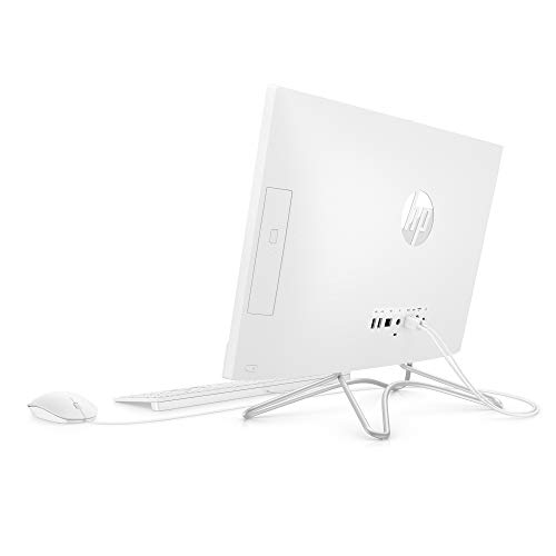 HP 21.5-Inch All-in-One Computer, AMD A4-9125, 4GB RAM, 1TB Hard Drive, Windows 10 (22-c0010, White)