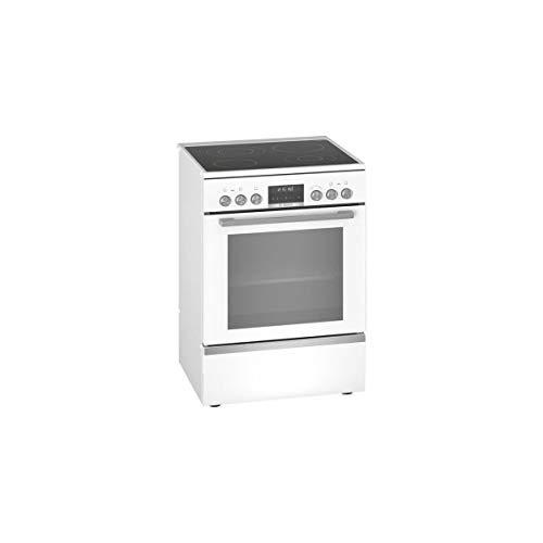 Bosch Serie 6 HKS79R220 four et cuisinière Blanc Céramique A - Fours et cuisinières (Cuisinière, Blanc, Boutons, Rotatif, Devant, 1,2 m, Électronique)