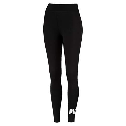 Puma ESS Logo Pants, Mujer, Negro (Cotton Black), S
