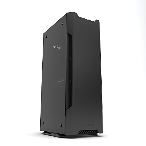Phanteks Evolv Shift Mini ITX Case Small Footprint Multiple Orientations 360-Degrees of Accessibility Vertical Airflow Cases PH-ES217E_BK Black