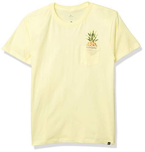Rip Curl Jungen Boy's PINA Colada Premium Tee T-Shirt, lichtgrün, Klein