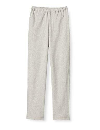 [セシール] ルームパンツ 綿100% 長パンツ無地 NI-389 レディース グレー M