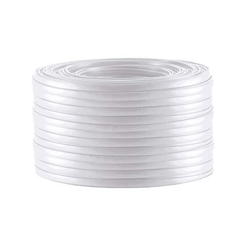 S/CONN maximum connectivity Telefonkabel 4-adrig flach weiß 10m