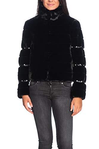 Guess Sira Jacket - Abrigo para mujer Negro XL