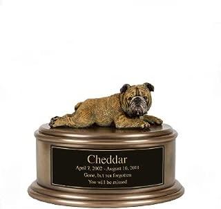 Perfect Memorials English Bulldog Figurine Cremation Urn