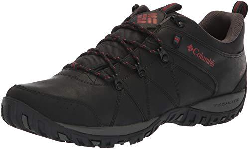 Columbia Men's Peakfreak Venture Waterproof Shoes Hiking, Black, Gypsy, 11.5 D US