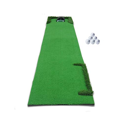 Review Of ZTJQD Golf Putting Trainer, Mini Golf Greens Adult Practice Area - Indoor Golf 0.5×3m
