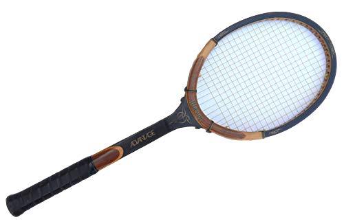 Best Prime Vintage Wooden Antique Tennis Racquet Top Props Movies Popular 2020 Christmas Stocking Stuffer for Men Women (Wilson Chris Evert)