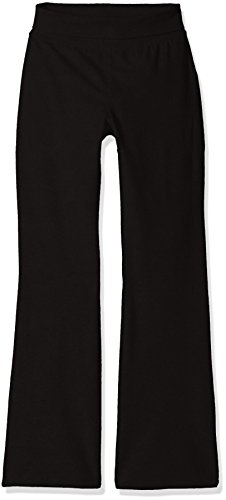 The Children's Place Big Girls' Yoga Pants, Black 9059, X-Large/14