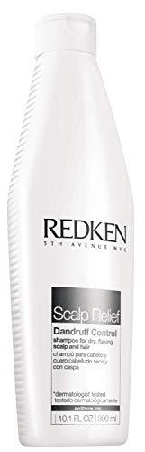 Shampooing Scalp Relief Dandruff Control Redken | Antipelliculaire | Apaise le Cuir Chevelu et Contrôle les Pellicules | Testé sous contrôle dermatologique | 300 ml