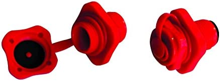 Airhead Boston Valve, 2 pk., Red, One Size (AHBV-2)