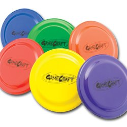 Gamecraft Plastic Flying Discs Set
