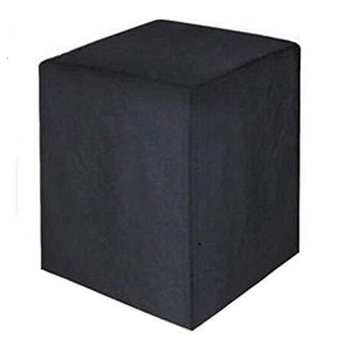 Huolirong Funda Protectora para Muebles Impermeable Cubierta De Mesa De Patio Cuadrado A Prueba De Polvo Funda De Protección Muebles De Jardín Funda