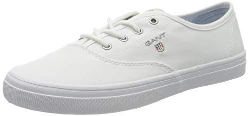 Gant Preptown, Zapatillas Mujer, Blanco (Bright White G290), 39 EU