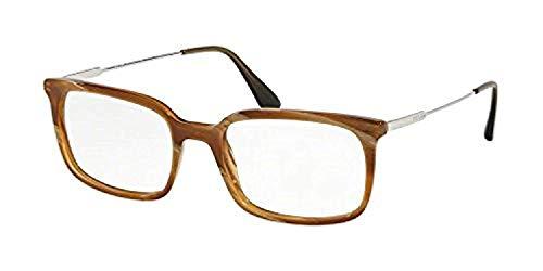 Prada Gafas PR 16UVF para hombre, 55 mm