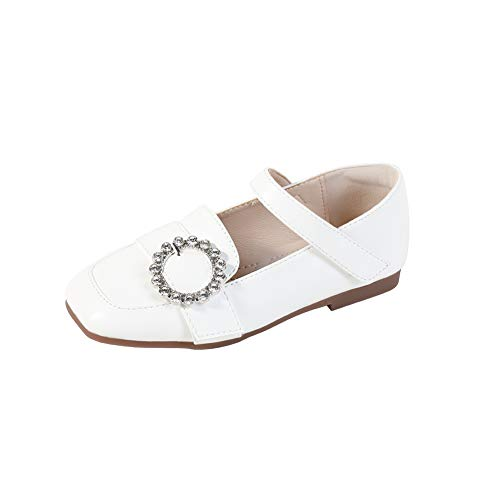 N/P Joeupin Zapatos de vestir para niñas uniformes escolares Zapatos de bailarina...