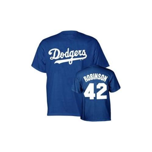 Jackie Robinson Brooklyn Dodgers Youth kids Shirt Extra Large XL 3af6099905e