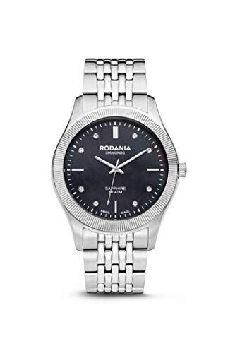 Rodania–Mujer Reloj analógico de cuarzo pulsera de metal–414034