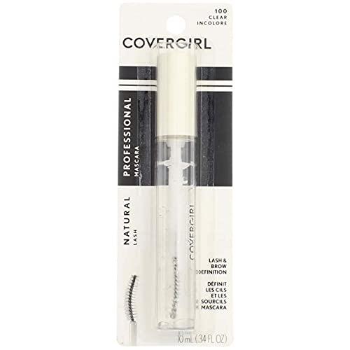 CoverGirl Professional Natural Lash Mascara, Clear [100] 0.34 oz