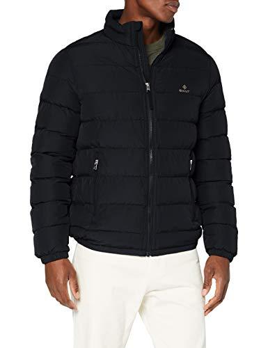 Gant D1. The City Cloud Jacket Chaqueta, Negro, S para Hombre