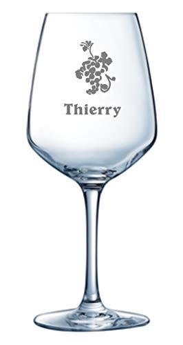 Arcoroc gravure op wijnglas Vina Juliette 40 cl personaliseerbaar met tekst en logo's (600 logo's naar keuze)