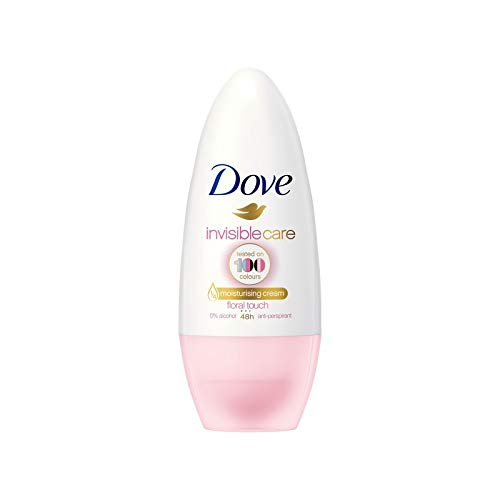 Dove Women Antiperspirant Roll On Invi Dry Floral Touch, 50ml
