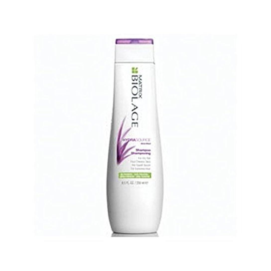 口クレジットスキニーマトリックスバイオレイジのシャンプー(250ミリリットル) x4 - Matrix Biolage Hydrasource Shampoo (250ml) (Pack of 4) [並行輸入品]